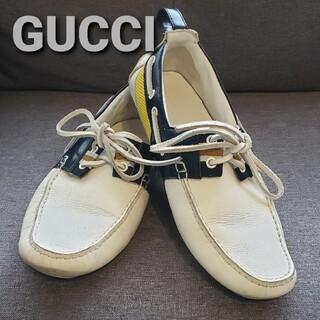 グッチ(Gucci)のGUCCIグッチ ドライビングシューズsize7 1/2(スリッポン/モカシン)