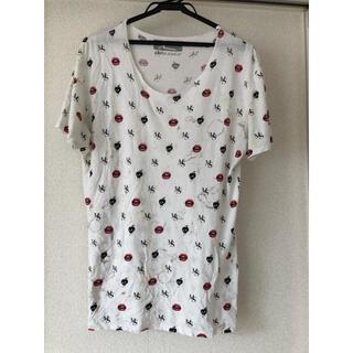 マックスシックス(max six)のmaxsixマックスシックス 可愛いlipマルチカットソーTシャツ(Tシャツ/カットソー(半袖/袖なし))