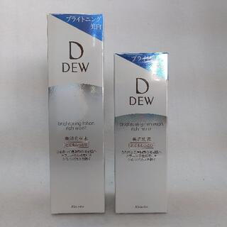デュウ(DEW)のカネボウ DEW ブライトニングローション&エマルジョン とてもしっとり(化粧水/ローション)
