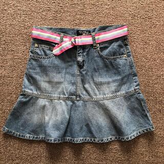 ラルフローレン(Ralph Lauren)のラルフローレン 150cmガール ベルト付きスカート(スカート)