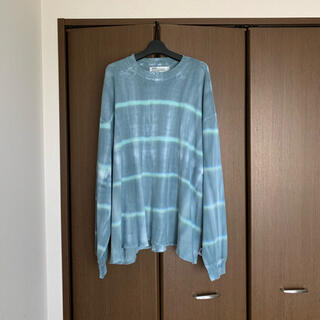 SUNSEA - DAIRIKU Tie-dye Thermal Tee for lloomm