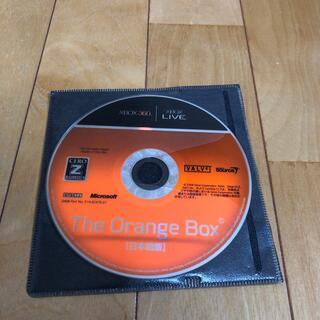 エックスボックス(Xbox)の専用 オレンジボックス FORZA 2枚(家庭用ゲームソフト)