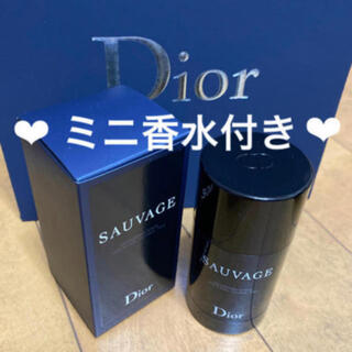 Christian Dior - ❤️ソヴァージュ パフューム ボディ スティック 限定 ディオール