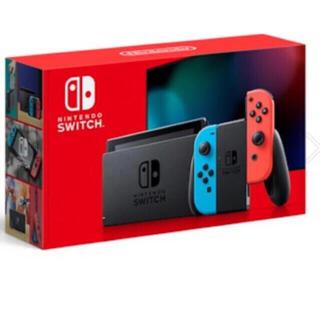 ニンテンドースイッチ(Nintendo Switch)の新品未開封 ニンテンドー スイッチ 本体 Nintendo Switch ネオン(家庭用ゲーム機本体)