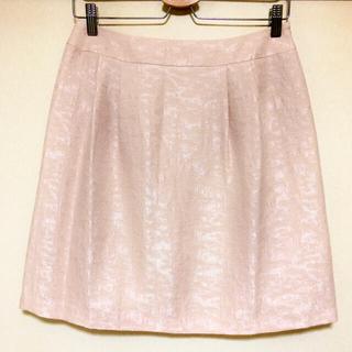 ストラ(Stola.)のstola ストラ スカート  淡いピンク  美品 40(ひざ丈スカート)