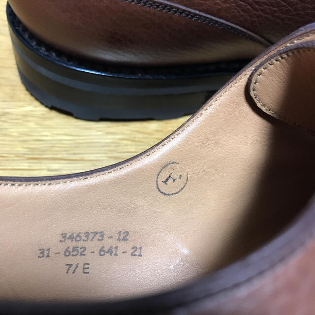 J.M. WESTON(ジェーエムウエストン)の【未使用品】j.m weston ゴルフ メンズの靴/シューズ(ドレス/ビジネス)の商品写真
