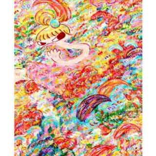 ロッカクアヤコ 魔法の手 展示会ポスター 千葉県立美術館 Rokkaku (版画)