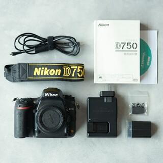 Nikon - Nikon D750ボディ【美品】中古品