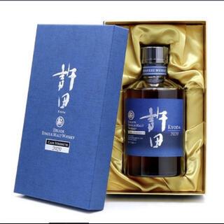 シングルモルトウイスキー 許田 カスクストレングス2020 新品未開封(ウイスキー)