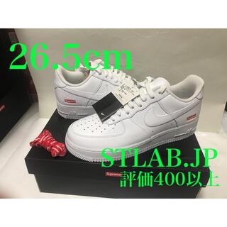 シュプリーム(Supreme)の白 26.5cm Supreme Nike Air Force 1 Low(スニーカー)