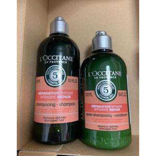 L'OCCITANE - ロクシタン ファイブハーブス リペアリングシャンプー 300 コンディシ 250