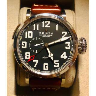 ゼニス(ZENITH)のゼニス パイロット タイプ20 アエロネフ GMT(腕時計(アナログ))