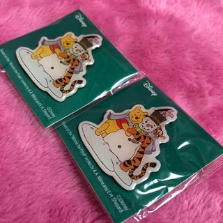 クマノプーサン(くまのプーさん)の☆ディズニー☆くまのプーさんピンバッジ☆(バッジ/ピンバッジ)