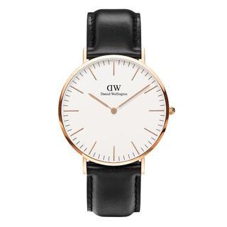 ダニエルウェリントン(Daniel Wellington)のDanielWellingtonピンクゴールド腕時計0107DW40mm(腕時計(アナログ))