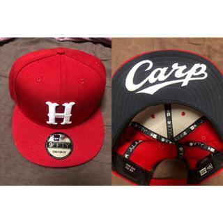 広島東洋カープ - 広島東洋カープ ニューエラ  バイザーロゴキャップ★カープ カープ帽子 CARP