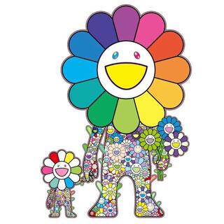 村上隆 お花の親子 版画 ED100 シルクスクリーン(版画)