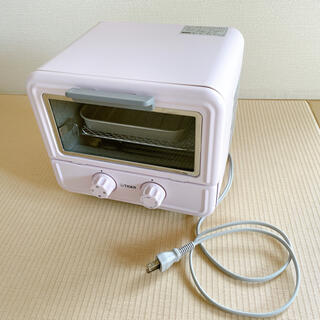 タイガー(TIGER)のぷちはこ タイガー オーブントースター ピンク KAO-A850(P)(調理機器)