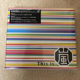 アラシ(嵐)の初回限定盤 this is 嵐 CD Blu-ray付き(男性アイドル)