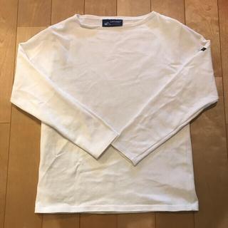 セントジェームス(SAINT JAMES)のセントジェームス  ホワイト XXS(Tシャツ(長袖/七分))