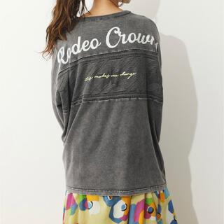ロデオクラウンズワイドボウル(RODEO CROWNS WIDE BOWL)の[RODEO CROWNS WIDE BOWL]新品★カットとニット切替★F(カットソー(長袖/七分))