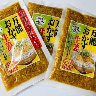 万能おかず生姜3袋(漬物)