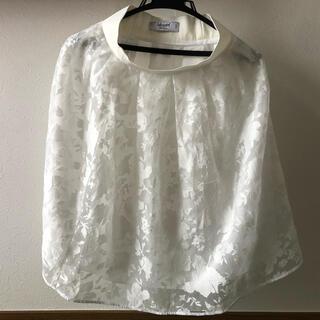 ブルーガール(Blugirl)のBlugirl 白レーススカート(ひざ丈スカート)