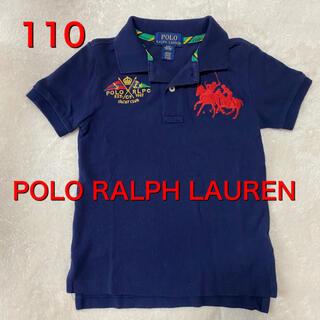 ポロラルフローレン(POLO RALPH LAUREN)の送料込み☆POLO RALPH LAUREN 110 ポロシャツ(Tシャツ/カットソー)