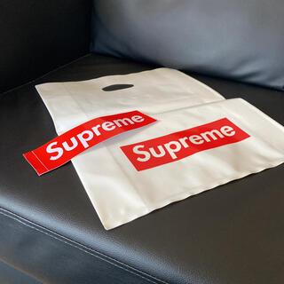 シュプリーム(Supreme)のsupreme ショップバック ステッカー(ショップ袋)