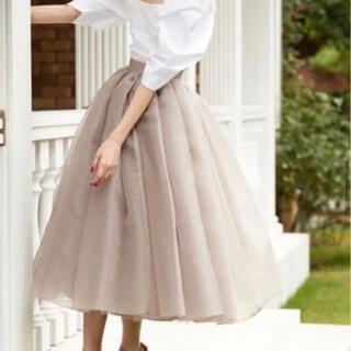 ツルバイマリコオイカワ(TSURU by Mariko Oikawa)のツルバイマリコオイカワ スカート(ロングスカート)