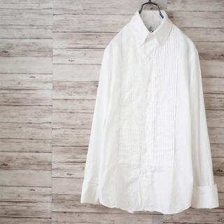 ブラックフリース(BLACK FLEECE)のUSA製 Black Fleece オックスフォード ピンタックBDシャツ(シャツ)