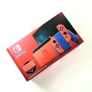 ニンテンドースイッチ(Nintendo Switch)のNintedo Switch マリオレッド✕ブルーセット(家庭用ゲーム機本体)