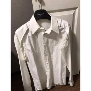 ジョンローレンスサリバン(JOHN LAWRENCE SULLIVAN)の最終値下 ジョンローレンスサリバン  ジップシャツ 44 19SS(シャツ)