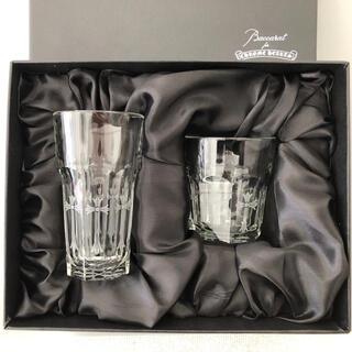 Baccarat - クロムハーツ×バカラ グラス コップ 2個セット 箱付き
