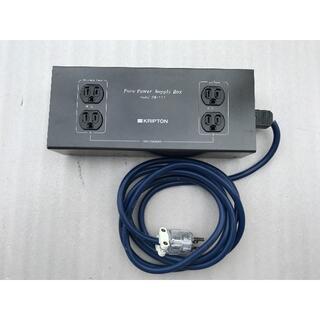 クリプトン ピュア電源ボックス PB-111 電源ケーブル付き(その他)