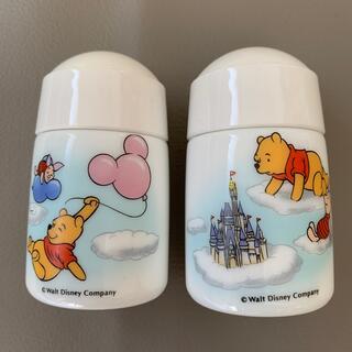 ディズニー(Disney)のディズニー プーさんの塩、胡椒入れ(容器)