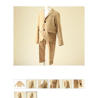 コドモビームス(こども ビームス)の【trp様】EAST END HIGHLANDERS スーツ120 ベージュ(ドレス/フォーマル)