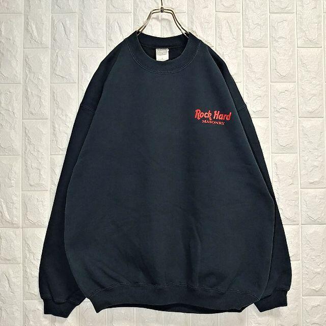 GILDAN(ギルタン)のギルダン ハードロックパロディ 企業物 スウェット トレーナー US古着 メンズのトップス(スウェット)の商品写真