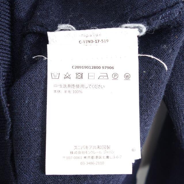 MONCLER(モンクレール)のMONCLER 17aw MAGLIONE TRICOT GIROCOLLO  メンズのトップス(ニット/セーター)の商品写真