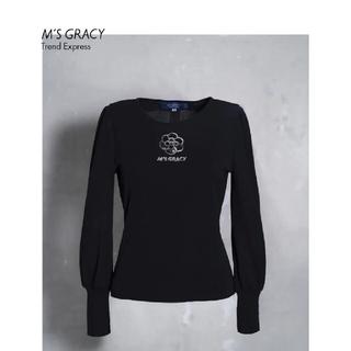 エムズグレイシー(M'S GRACY)のカメリア ニット38(ニット/セーター)