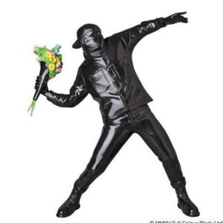 メディコムトイ(MEDICOM TOY)のFLOWER BOMBER BLACK Ver. Banksy フラワーボンバー(その他)