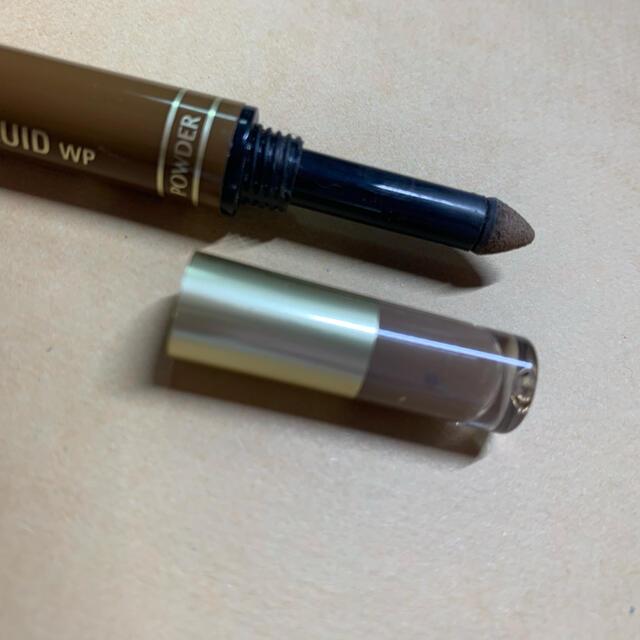 K-Palette(ケーパレット)のK-パレット アイブロウリキッド 01  ライトブラウン 中古品 コスメ/美容のベースメイク/化粧品(パウダーアイブロウ)の商品写真