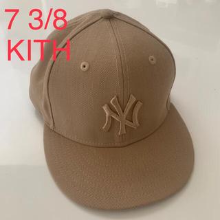 ニューエラー(NEW ERA)の7 3/8 kith newera キャップ 日本未発売 cap ニューエラ(キャップ)