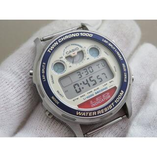 CASIO - CASIO TWIN CHRONO 1000 デジタル腕時計 LED-200
