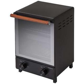 アマダナ(amadana)のAmadana オーブントースター ブラック 新品未使用品 保証つき(調理機器)