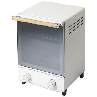 アマダナ(amadana)のAmadana オーブントースター ホワイト 新品未使用品 保証つき(調理機器)