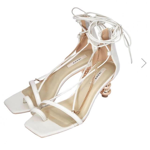 Ameri VINTAGE(アメリヴィンテージ)のAmeriVintage CHAIN CROSS SANDALS  レディースの靴/シューズ(サンダル)の商品写真