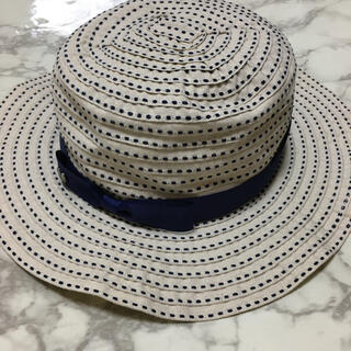 クミキョク(kumikyoku(組曲))の新品 未使用 タグ付き 組曲 キッズ 帽子 54 55 56cm (帽子)