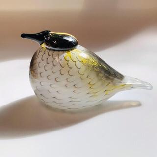 イッタラ(iittala)のにく。様専用 イッタラ   バード  Yellow Rumped Warbler(置物)