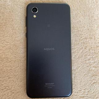 アクオス(AQUOS)のスマートフォン SIMフリー AQUOS (スマートフォン本体)