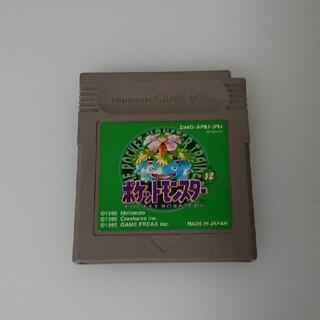 GB ポケットモンスター 緑 グリーン(携帯用ゲームソフト)